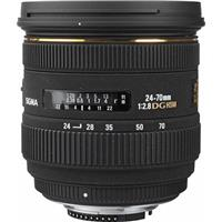 Sigma 24-70mm f/2.8 EX Aspherical IF EX DG HSM AutoFocus Zoom Lens for Nikon AF & Digital SLR's image