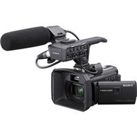 Sony HXR-NX30U NXCAM Palm Sized Camcorder, Zeiss 3.8-38mm Wide Angle Zoom Lens, Optical SteadyShot, Full HD, 60p/30p/24p, Built-In Projector