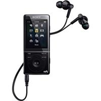 Sony E Series NWZ-E474 8GB Walkman Video/MP3 Player, Black