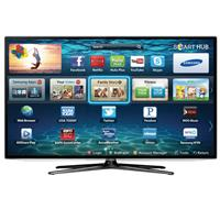 "Samsung 50"" LED Flat Panel HDTV with 1080p Resolution, 120Hz Refresh Rate, 16:9 Aspect Ratio, Built-in WiFi, Black"