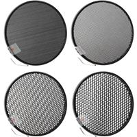 "7"" Honeycomb Grid Set for the M11 & M11Q Reflectors with 10 deg., 20 deg., 30 deg. and 40 d Product image - 749"