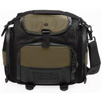 Tenba Shootout Small Shoulder Photo Equipment Bag, Black / Olive image