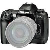 Nikon D100 Digital Slr W/accs,bx. image
