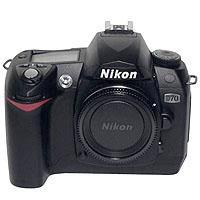 Nikon D70 Digital Slr Body  W/accs image