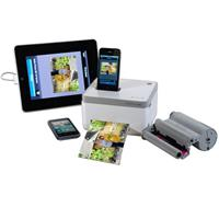 VuPoint Solutions IP-P10-VP Photo Cube iPhone/iPod Touch Dye Sublimation Color Printer - View, Print and Charge All at Once