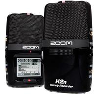 Zoom H2N Handy Recorder with Five Built-in Mic Capsules, 2-Channel and 4-Channel Surround, 1.8in Backlit LCD Display