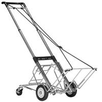 880-3 Folding Equipment Cart with 400 lbs Capacity, with Rear Wheel Assembly. Product image - 351