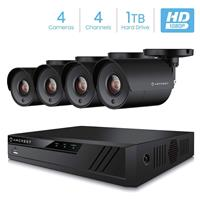 Samsung Wisenet 4x4 1080P 4-Ch 4-Camera Full HD Video