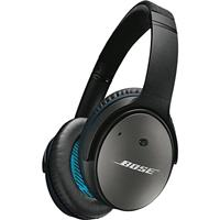 apple z0tr. bose quietcomfort 25 headphones with ios inline mic for apple devices, black z0tr