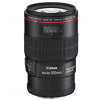 3554B002 Canon EF 100mm f/2.8L IS USM Macro Auto Focus Lens - U.S.A.
