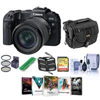 Canon EOS RP 26.2MP Camera w/RF 24-105mm F4-7.1 IS STM Lens w//PC ACC