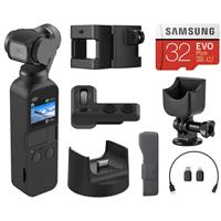 Deals on DJI Osmo Pocket 3-Axis Gimbal Stabilized w/DJI Expansion Kit