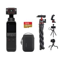 Deals on DJI Pocket 2 Gimbal Camera Bundle w/128GB MicroSD Card