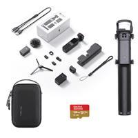 dji pocket 2 gimbal camera creator combo kit w extension rod 128gb card case