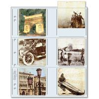 Print File 33-12P Archival Storage Page for 12 3.5 x 3.5 Prints 100-Pack