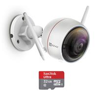 EZVIZ ez360 1080p HD Pan/Tilt/Zoom WiFi Home Security Camera, White