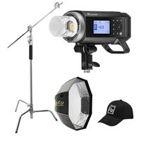 Deals on Flashpoint XPLOR 400PRO R2 TTL Battery-Powered Monolight Kit