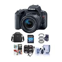 Canon EOS Rebel T6i DSLR with 18-55mm STM Lens and Free PC
