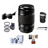 Fujifilm XF 55-200mm F3.5-4.8 R LM OIS Lens with Mac Accessory Deals