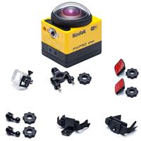 Deals on Kodak PIXPRO SP360 360 Degree VR Action Camera w/Explorer Pack