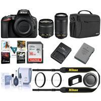 Nikon D5600 DSLR w/18-55mm f/3.5-5.6G VR and 70-300mm f/4.5-6.3G ED Deals