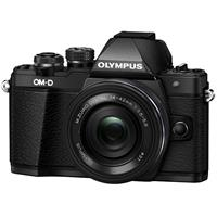 Deals on Olympus Mark II Mirrorless Micro Four Thirds Camera w/14-42mm Lens