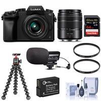 Deals on Panasonic DMC-G7 Camera w/14-42mm & 45-150mm Lenses Bundle