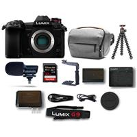 Deals on Panasonic Lumix G9 Mirrorless Camera Body Bundle