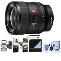 + 4PC Macro Filter Set UV + CPL + FLD + More Includes 3 Piece Filter Kit Sony FE 24-70mm f//2.8 GM Lens 10PC Accessory Bundle +1,+2,+4,+10