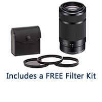 Deals on Sony E 55-210mm f/4.5-6.3 OSS E-Mount Lens w/49mm Filter Kit