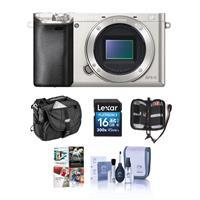 Deals on Sony Alpha a6000 24.3MP Camera Bundle