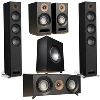 Deals on Jamo S 809 Floorstanding Black Pair w/CE Center Bundle