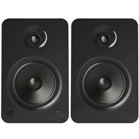 Kanto YU6 200W 2 Way Powered Bookshelf Speaker Pair Gloss Black