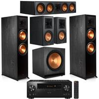 Deals on Klipsch RP-8060FA 5.1 Home Theater System w/Pioneer Receiver