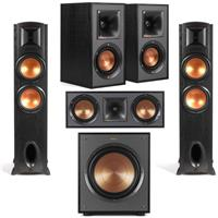 Deals on Klipsch Synergy Black Label F-300 Speaker w/Speaker Bundle