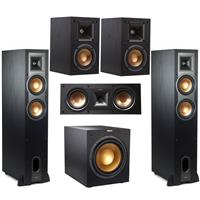 Deals on Klipsch 2x R-26FA Dolby Atmos Speaker w/Speakers Bundle