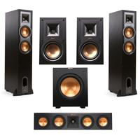Klipsch 2x R 26F Floorstanding W 15M Bookshelf RP 250 Center Speakers Subwfr