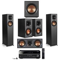 Deal for Klipsch 5 Speaker Theater System w/Yamaha 5.1 Receiver for 879.99