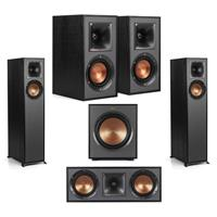 Deals on Klipsch R-610F Speaker + R-41M Speakers Bundle
