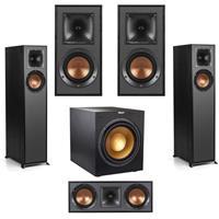 Deals on Klipsch 2 Pk R-610F Floorstanding Speaker w/2 Speakers /Subwoofer