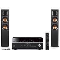 Deals on Klipsch R-625FA Dolby Atmos Speaker w/Yamaha RX-V685 Reciever