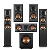 Deals on 2x Klipsch R-625FA R-52C R-41M Pair SPL-100 10-in Subwoofer