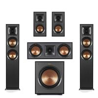 Deals on Klipsch 2 Pack R-625FA Dolby Atmos Floor standing Speaker Bundle