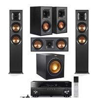 Deals on Klipsch 2pk R-625FA Dolby Atmos Floor Standing Speaker w/Speaker Bundle