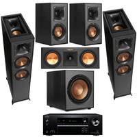 Deals on Klipsch Speaker Kit w/2x Floorstanding, Ctr. Cha, Bundle