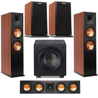 Deals on Klipsch 2x RP-280FA Floorstanding Speaker w/Speaker Bundle 1