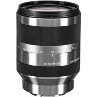 Sony f OSS E mount NEX Series Camera Lens Silver 66 - 1197