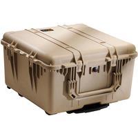 Pelican Watertight Hard Case Cubed Foam Interior Wheels Desert Tan 248 - 20