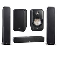 Deals on Polk Audio S20 Bookshelf Speaker pair/s35 Slim/2x S60 Tower