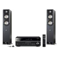 Deals on Polk Audio Home Theater w/Yamaha Receiver Bundle on Sale from $549.00